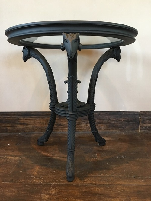 The Rams Table: Matt Black Tables > Coffee And Side Tables