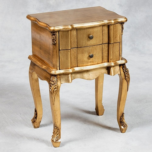 Versailles Antique Gold French Side Table. Tables > Coffee And Side Tables