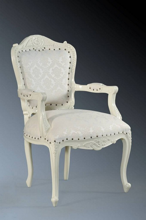 The Grand Louis Chair - Antique White & Regency Seating > Chairs