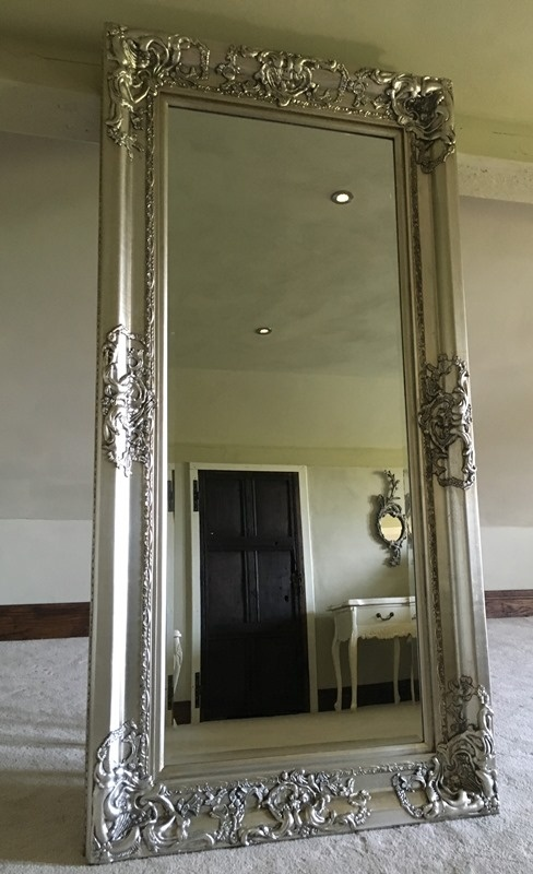 The Chateau - Antique Silver: Available in Sizes Ranging from 4Ft x 3Ft up to 7Ft x 4Ft Mirrors > Silver Mirrors