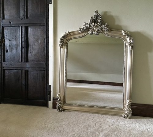 The Annecy Mirror: Antique Silver Mirrors > Silver Mirrors
