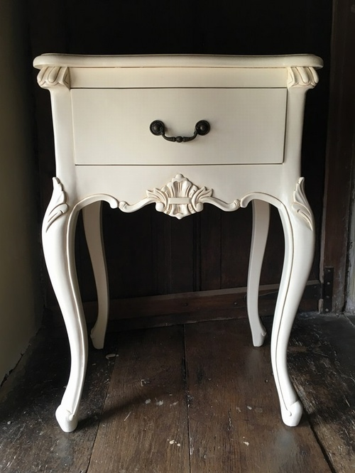 The Josephine: French White Tables > Coffee And Side Tables