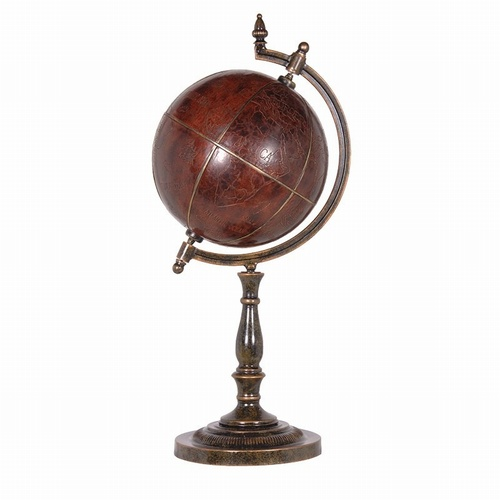 Antique Style Globe on Stand Office > Desks