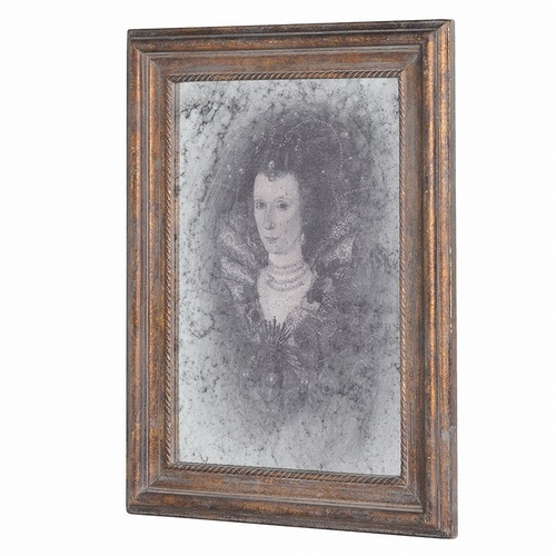 Lady Ghost Mirror Decorative > Wall Art