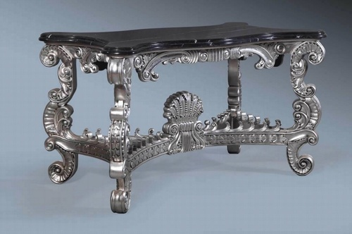 The Emperors: Marble Console Table Tables > Console Table