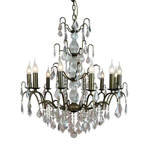 The Marseilles: Large 12 Branch Bronze French Chandelier Lighting > Chandeliers
