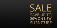 Save Upto 20% on New Furniture