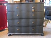 The Chateau Gothic Black Chest Of Drawers
