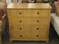 The Chateau Warm Oak Chest Of Drawers