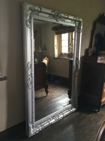 The Chateau - True Silver: Available in Sizes Ranging from 4Ft x 3Ft up to 7Ft x 4Ft