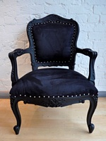 The Louis Chair - Matt Black