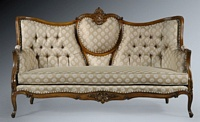The Grand Belfort Sofa - Antique Olive & Sesame