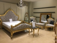 The Charles Bed - Gold Leaf & Champagne