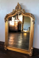 The Annecy Mirror: Antique Gold