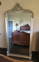 The Annecy Mirror - Antique Silver: H-181cm x  W-111cm