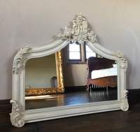 The Annecy: Small Over Mantle - Antique Ivory