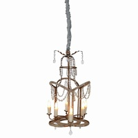 Parisian Bohemian Design Chandelier