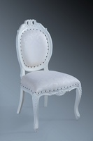 The Versailles Chair :French White & Woven Regency.