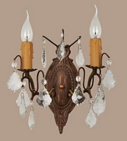Bronze French Wall Sconce
