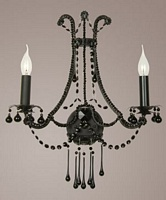 Black Belgium Wall Light