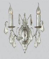 Silver French Wall Sconce